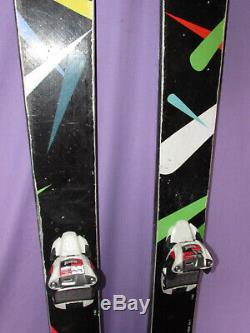 RMU T-CON freestyle true twin tip skis 178cm with Marker Squire ski bindings