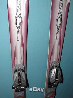 ROSSIGNOL Bandit B1 W womens skis 160cm with Marker 9.0 Speedpoint ski bindings