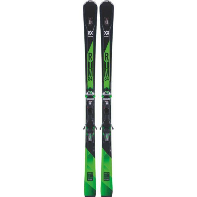 Rarely Used 2018 Volkl Rtm 84 With Marker Wider Ride Bindings Size 172cm