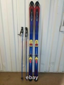 Rebel Rosignol x 177 cm Mountain Ski With Marker M51 Twincam Binding and Sticks