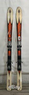 Rossignol Bandit 140cm skis with Marker M900 bindings