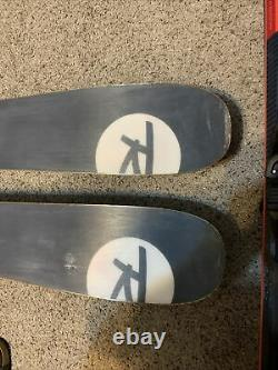 Rossignol Black Ops 118 Skis 186cm with Marker Griffon 13 Demo Binding