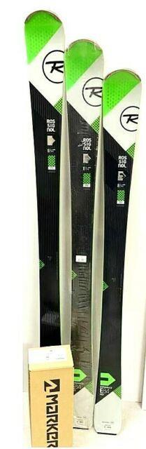 Rossignol Experience 84 Hd Skis & Marker M 10 Binding Nwt 146,154,162 Alpine Set