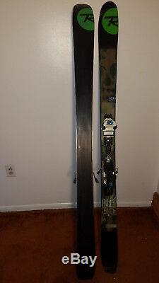 Rossignol S3 Skis 176cm with Marker Griffon bindings used five days