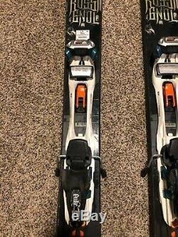 Rossignol S7 skis, 188cm, Marker Duke Bindings, G3 Alpinist Skins