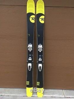 Rossignol Soul 7 Skis 172 cm marker squire 12 Bindings Black/Yellow used 4 times