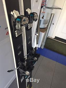 Rossignol Soul 7 Skis withMarker Griffon Bindings 188 cm. Used 10 days