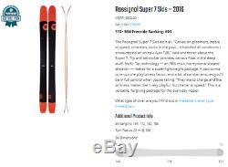 Rossignol Super 7 188 cm with marker Griffon Bindings