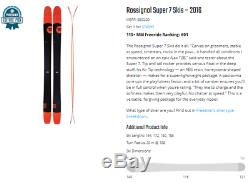 Rossignol Super 7 188 cm with marker Griffon Bindings