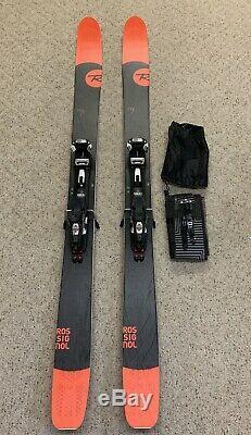 Rossignol Super 7 188cm Marker Baron Bindings, Black Diamond STS Skins