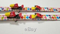 Roxy 120 Cm Skis with Marker Bindings