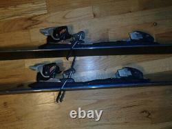 SALOMON pocket rocket 165 cm twin tip skis park pipe freeride & MARKER bindings