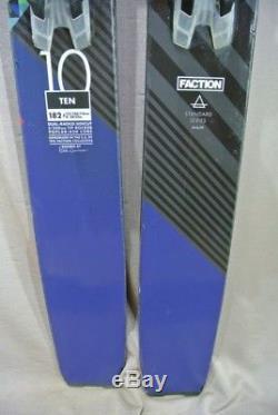SKIS All Mountain- FACTION TEN-Marker GRIFFON bindings-2016/17 182cm