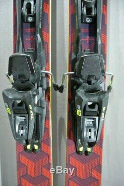 SKIS Touring / All Mountain -BLACK CROWS CAMOX-Marker TOUR bindings -186cm