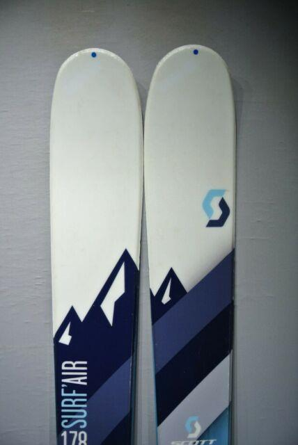 Skis Touring Scott Surf'air With Marker Tour Bindings And Skins -178cm