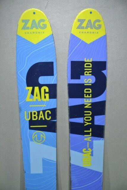 Skis Touring Light Skis -zag Ubac- Marker Tour Binding & Skins-178cm