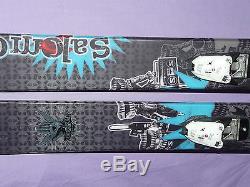 Salomon LAB The Rocker 192cm Powder Fat Swallowtail SKIS Marker Free 12 Bindings