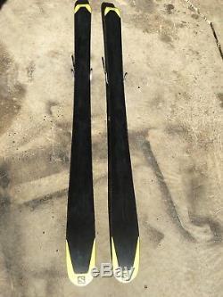 Salomon MTN Explore 95 177cm with Marker Kingpin Bindings