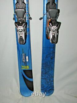 Salomon POCKET ROCKET 165cm Twin Tip spaceframe skis with Marker 1200 PC bindings
