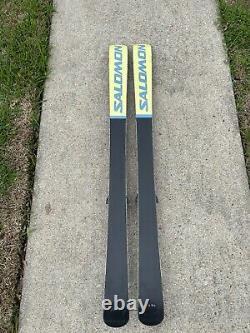 Salomon Pocket Rocket Space frame Twin Tip Skis 165cm Marker Bindings