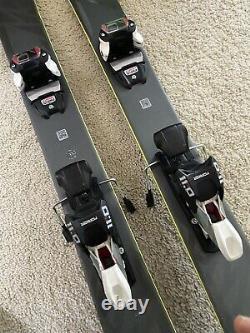 Salomon QST 92 153cm Skis 19/20 Marker 11.0 Bindings Skiing