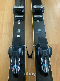 Salomon QST 92 Skis 2019/2020 and Marker Griffon ID Ski Bindings 2019/2020