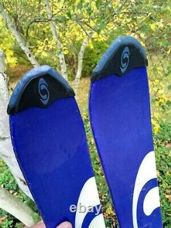 Salomon TENEIGHTY Twin Tip Skis 161 CM With Marker Free1200 Bindings EXCELLENT
