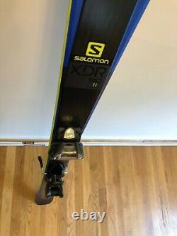 Salomon XDR 80 Ti Skis 2018 with Marker Griffon Ski Bindings