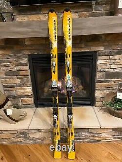 Salomon XScream Series Skis 187 with Marker Titanium 1200 Bindings