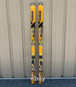 Salomon X-SCREAM Series 170cm FreeRide SKIS with Marker M8.1 Bindings