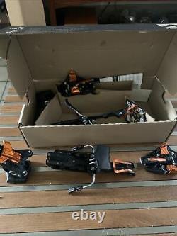 Ski bindings 100mm