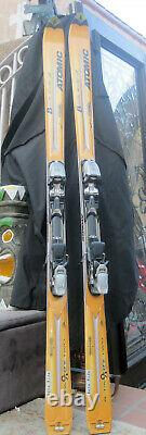 Snow skis ATOMIC brand 180 CM Beta Marker Bindings in San Diego Excellent shape