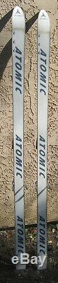 Snow skis Atomic 170cm with Marker Brand adjustable ski bindings Classic