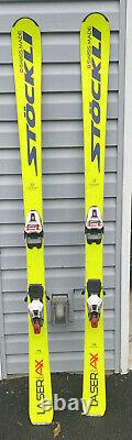 Stockli Laser AX Skis 175cm with Marker Race Xcell 12 Bindings