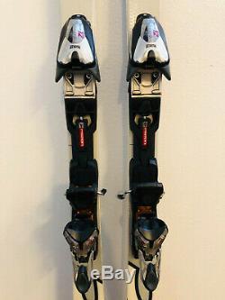 Stockli Laser SC World Cup Slalom Race Skis 163 cm Marker Bindings FRESH TUNE