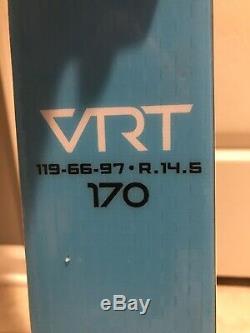 Stockli Laser SL VRT 170 Marker Race Plates/Bindings Consumer Slalom