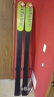 Stockli StormRider Pro 190cm Men's Powder Skis withMarker Peak 18 Bindings
