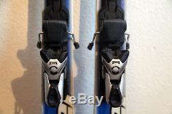 Stockli Stormrider XL Downhill Skis 174 cm. Marker 1300 Bindings