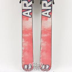 USED 166 Armada AR6 Skis 06/07 Marker FX Ti 12 Bindings- Park Pipe Twin Tip