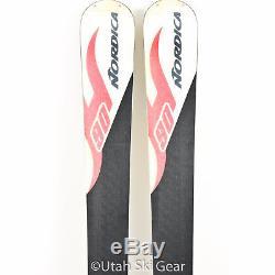 USED 178 Nordica Hot Rod Hellcat Skis 07/08 Marker N03 12 Bindings All-Mountain