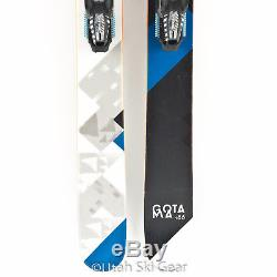 USED 186 Volkl Gotama Skis 14/15 Marker Griffon Bindings Full Rocker Powder