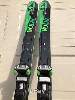 USED 2016 Volkl Skis RTM 84 Uvo 177cm with Marker iPT WR 12.0 XL Bindings