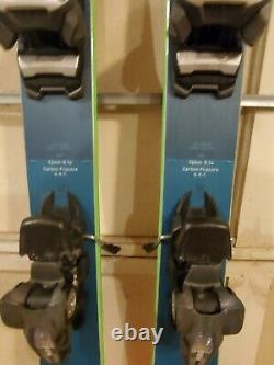 USED 2020 Blizzard All Mountain Rustler 9 Skis With Marker Griffon Bindings 164cm