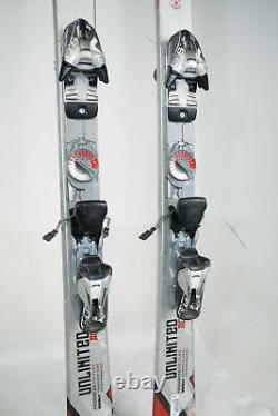 USED Volkl Unlimited AC Snow Skis With Marker Bindings 153cm 159cm 166cm 173cm