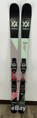 Used 2017-2018 Volkl Yumi 154cm With Marker FDT 11 Bindings