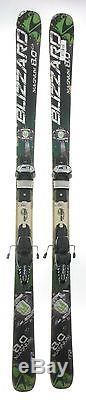 Used Blizzard Magnum 8.0 CA Skis with Marker Griffon Binding C