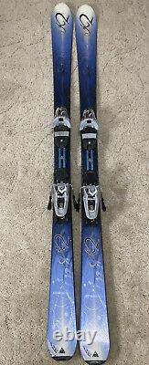 Used K2 Sweet Luv Womens Skis 160 CM Marker Adjustable Bindings