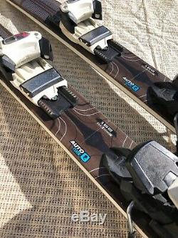 Used Rossignol 162 CM Experience Skis Waxed/tuned Adjustable Marker Bindings