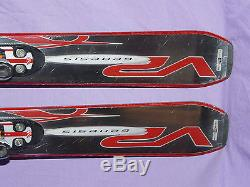 VOLANT Chubb V2 Genesis 155cm Fat Powder Skis with Marker Titanium 1200 Bindings