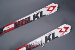VOLKL 75 2014 WINTER SNOW SKIS 173CM With MARKER BINDINGS BLACK/RED/WHITE L@@K